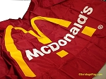 McDONALDS- 6x10ft Nylon Logo Flag Vintage